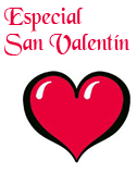 Plantilla carteles San Valentin
