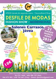 Desfile de moda a favor de APASA - Eventos celebrados a favor de los animales