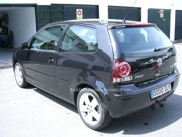 tabl n de anuncios com vendo polo 1 9 tdi sportline 130 cv con fotos coches. Black Bedroom Furniture Sets. Home Design Ideas