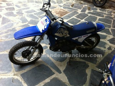 tabl n de anuncios com moto yamaha 80cc cross con fotos motos. Black Bedroom Furniture Sets. Home Design Ideas