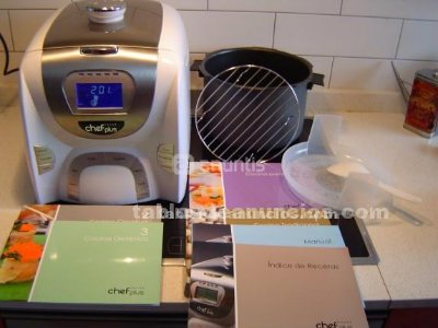 tabl n de anuncios com chef plus impecable 1s lo uso