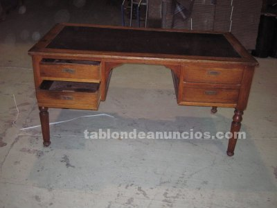 Tabl n de anuncios com escritorio antiguo con fotos for Muebles ordizia