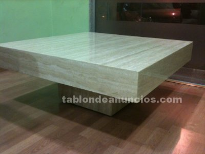 Tabl n de anuncios vendo mesa centro for Vendo marmol travertino