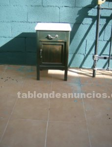 Tabl n de anuncios mesitas de madera rusticas for Vendo marmol travertino