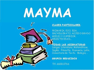 Mayma. Clases particulares