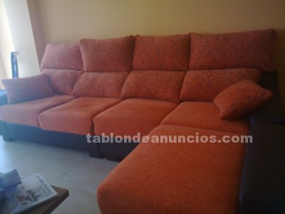 VENDO SOFA DE 4 PLAZAS CON CHAISELONG