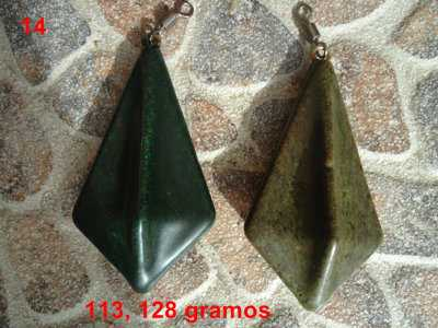 Plomos de carpfishing