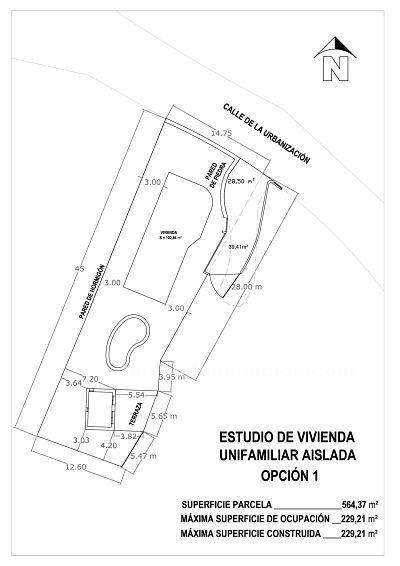 Vendo parcela y casa en urbanizaci�n junto a castell�n