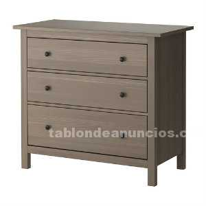 tabl n de anuncios c moda y mesillas serie hemnes de ikea. Black Bedroom Furniture Sets. Home Design Ideas
