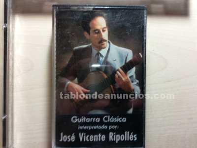 Discografia de guitarrista clasico jose vicente ripolles