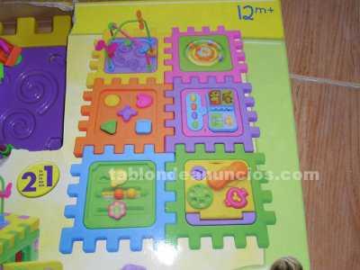 Juguete centro de actividades 2 en 1