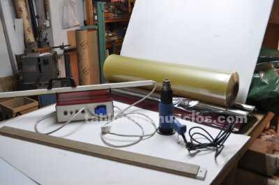 Plastificadora de laminas,o fundas a medida para laminas