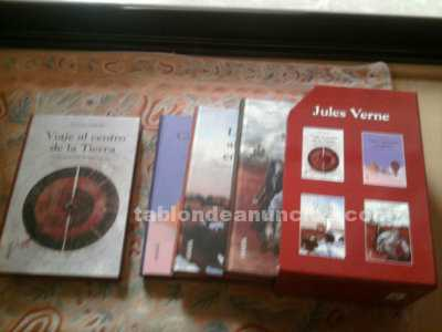 Pack de 4 novelas de julio verne sin usar
