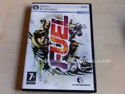 Juego fuel [game for windows] - año 2009 (pc-dvd)