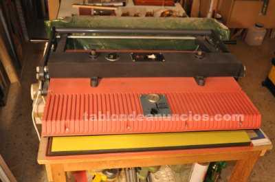 Maquina de pegado, fotos, laminas etc electrica