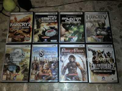 Gran lote 7 juegos [pc-dvd] --codegame--