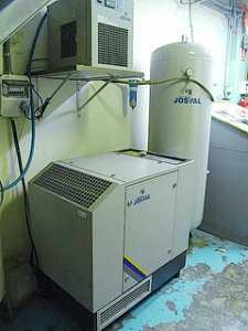 Compresor tornillo josval marca mistral - serie 10a