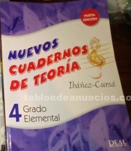 Nuevos cuadernos de TEORÍA IBAÑEZ- CURSÁ