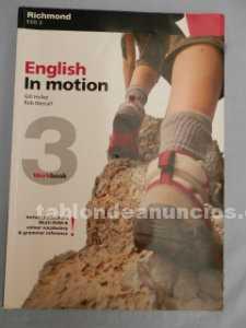 English in motion 3° eso  cuadernillo y libro