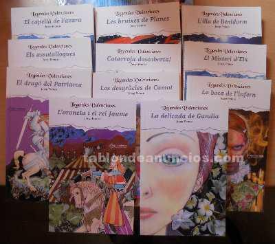 Lote libros en valenciano llegendes valencianes
