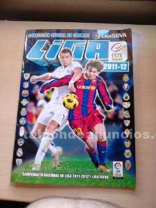 álbum de cromos liga fútbol bbva 2011-12
