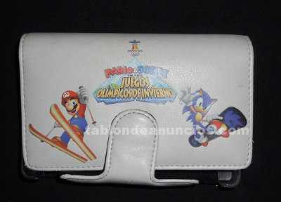 FUNDA CONSOLA NDS MARIO AMP; SONIC