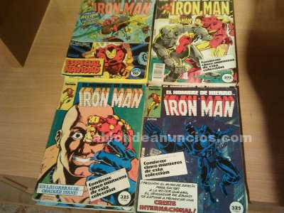 Comics de iron man.
