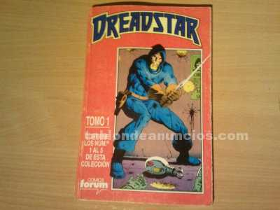 Comic dreadstar del 1 al 5