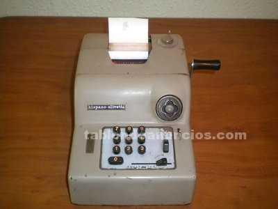 Calculadora de palanca hispano-olivetti