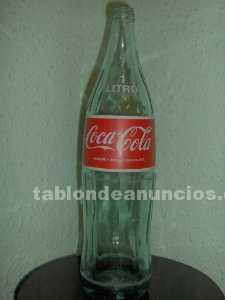Botella coca cola de 1 litro