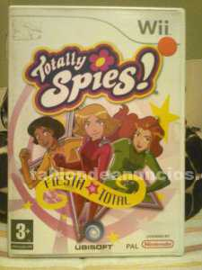 JUEGO TOTALLY SPIES FIESTA TOTAL