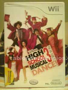 Juego high school musical 3 dance