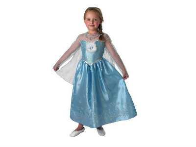 Disfraz de frozen - anna y elsa