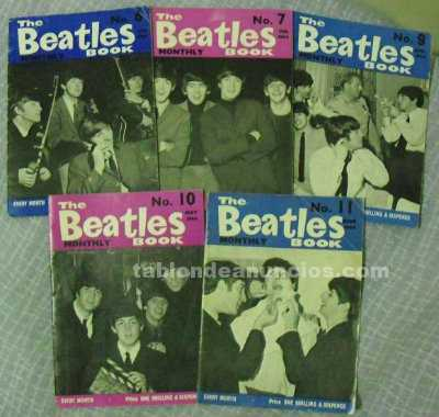 The beatles monthly book- números 6, 7, 9, 10 y 11