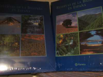 Reservas de la biosfera en españa 2 tomos