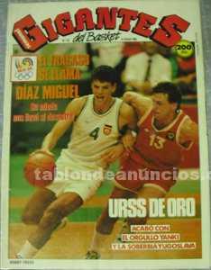 Sabonis, medalla de oro en los jjoo '88