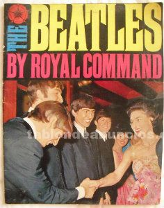 The beatles by royal command - 1963