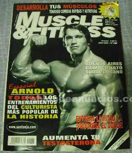 Muscle & fitness - arnold schwarzenegger