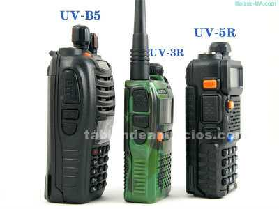 Walkie talkie baofeng uv-b5 bibanda