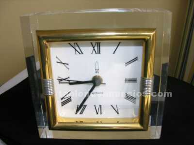 Reloj de cristal