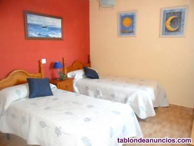 Alquiler apartamento playa en benalmadena costa (malaga).