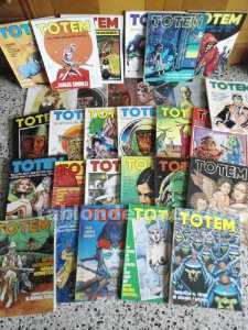 Totem, comic colection.