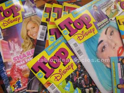 Revistas top disney