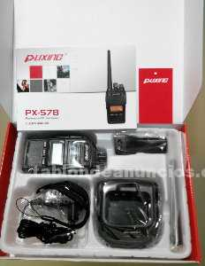 Walkie talkie puxing px-578 impermeable ip67