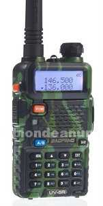 Walkie talkie bibanda uv5r camuflaje