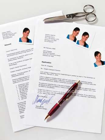 Realizo currículums vitae y cartas de presentación