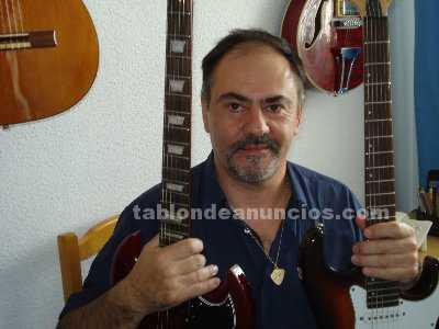 Clases de guitarra electrica,clasica o acustica en carabanchel