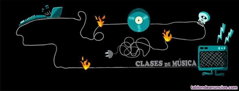 Clases de Música, Guitarra, Ukelele, Bajo