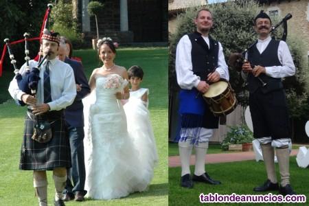Gaitero escoces/gallego/asturiano, grupos celta, medieval, folk. Etc