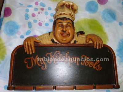 Soporte imagen de cocinero